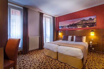 hotel abbatial saint germain 3 stars paris ile de france paris. Black Bedroom Furniture Sets. Home Design Ideas