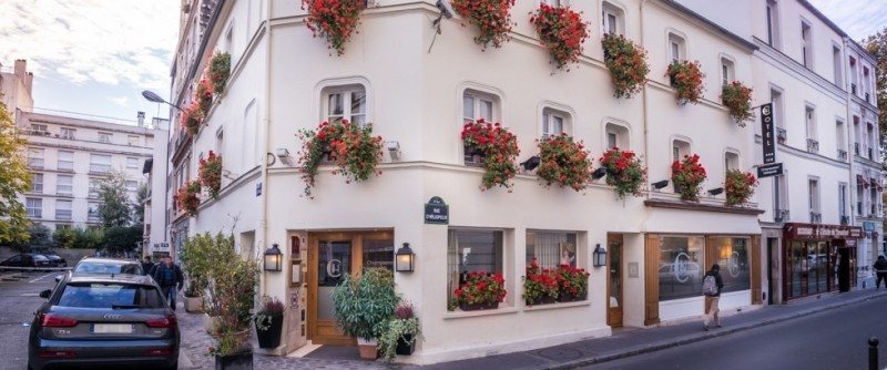 Hotel champerret heliopolis 3 toiles paris ile de france paris - Restaurant el ward porte maillot ...
