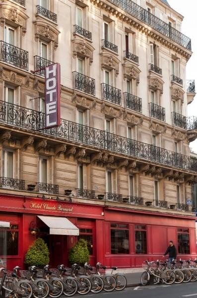 Hotel claude bernard saint germain 3 estrellas paris for Hotel saint germain paris