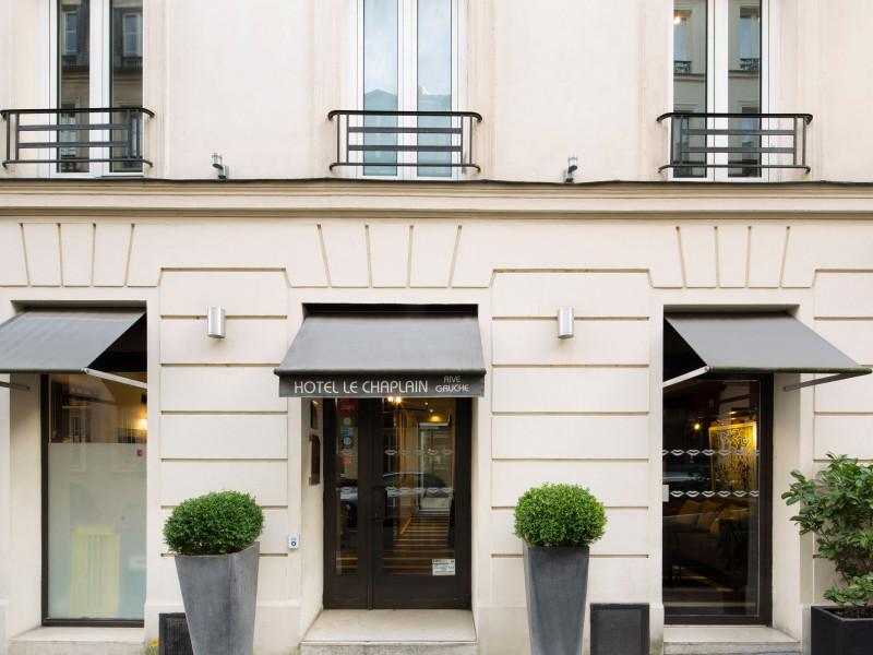 Hotel Le Chaplain Paris Rive Gauche 4 Stars Paris Ile
