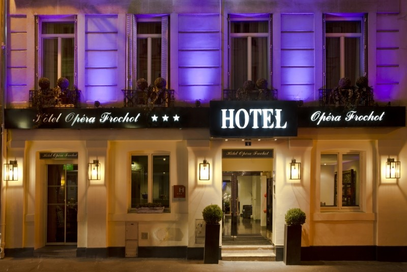 Opera Frochot Hotel Paris France